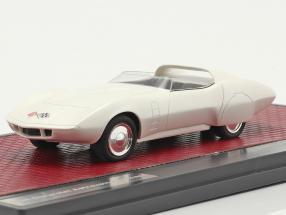 Chevrolet Astrovette Concept Car 1968 white 1:43 Matrix