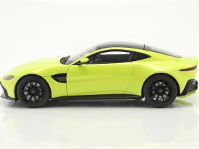 Aston Martin Vantage year 2019 lime green
