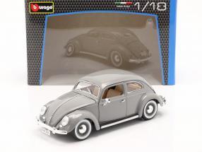 Volkswagen VW Käfer year 1955 grey 1:18 Bburago
