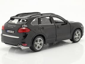 Porsche Cayenne Turbo black