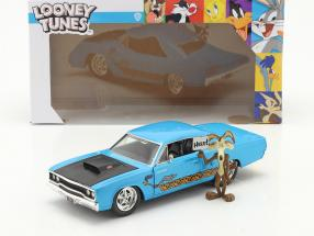 Plymouth Road Runner 1970 & Wile E. Coyote Looney Tunes 1:24 Jada Toys
