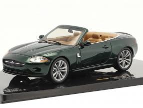 Jaguar XK Convertible year 2005 dark green metallic 1:43 Ixo
