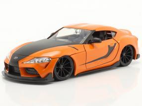 Han's Toyota GR Supra Fast & Furious 9 (2021) orange / black 1:24 Jada Toys