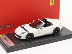 Ferrari 812 GTS Spider year 2019 italia hite / blue 1:43 LookSmart
