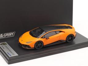 Lamborghini Huracan Evo Fluo Capsule 2020 mat orange 1:43 LookSmart