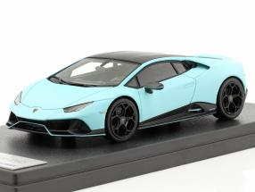 Lamborghini Huracan Evo Fluo Capsule 2020 mat light blue 1:43 LookSmart