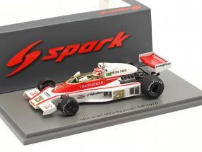 Nelson Piquet McLaren M23 #29 Austria GP formula 1 1978 1:43 Spark