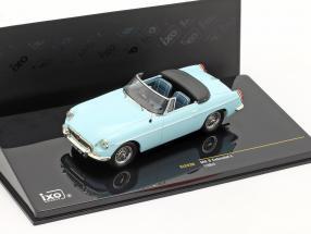 MG B Cabriolet L year 1964 light blue1:43 Ixo