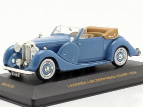 Lagonda LG6 Drophead Coupe Bj. 1938 blue