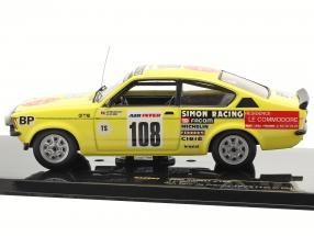 Opel Kadett #108 J.L. Clarr 4th trip de France 1979