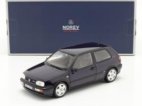 Volkswagen VW Golf VR6 year 1996 blue metallic 1:18 Norev
