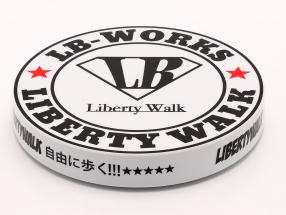 LB-Works Liberty Walk Type A Turntable white / black 1:64 TrueScale