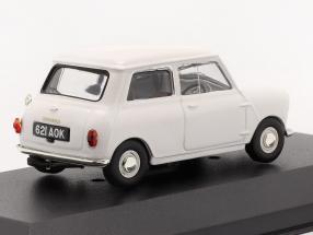 "Morris Mini Minor 1959 white ""First Mini to be badged Morris"""