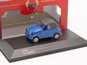 SMZ S3A year 1967 blue 1:43 Ixo IST