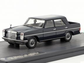 Mercedes-Benz Binz W115 Pick Up Double Cabin Year 1930 dark blue 1:43 Matrix