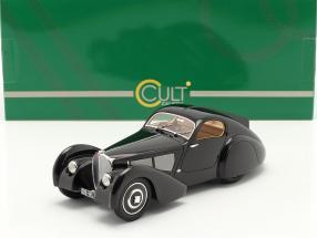 Bugatti Type 51 Dubois Coupe 1931 black 1:18 Cult Scale