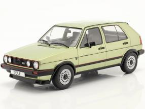 Volkswagen VW Golf II GTI 5-door year 1984 green metallic 1:18 Model Car Group