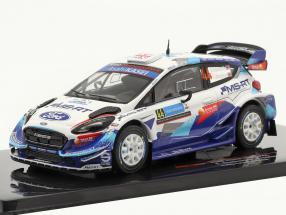 Ford Fiesta WRC #44 Rallye Estonia 2020 Greensmith, Edmondson 1:43 Ixo