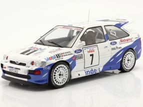 Ford Escort RS Cosworth #7 7th Rallye Tour de Corse 1993 Biasion, Siviero 1:18 Ixo