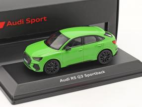 Audi RS Q3 Sportback (F3) Construction year 2019 kyalami green 1:43 Minichamps