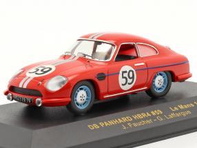 DB Panhard HBR4 #59 24h LeMans 1959 Faucher / Laffargue 1:43 Ixo