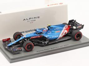 Esteban Ocon Alpine A521 #31 Bahrain GP formula 1 2021 1:43 Spark
