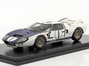Ford GT40 MK2 #1 24h LeMans 1965 Miles, McLaren 1:43 Spark