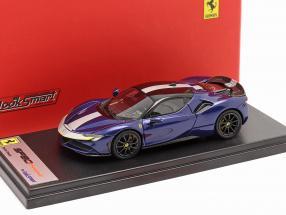 Ferrari SF90 Stradale year 2019 blue metallic 1:43 LookSmart