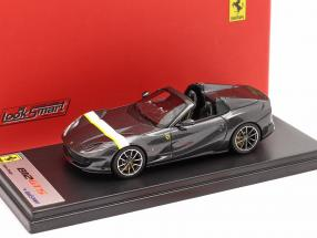 Ferrari 812 GTS Spider year 2019 Silverstone grey 1:43 LookSmart