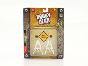 Road Barrier 1:24 Hobbygear