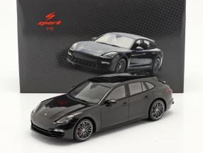 Porsche Panamera GTS Sport Turismo year 2018 black 1:18 Spark