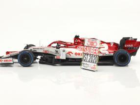 Kimi Räikkönen Alfa Romeo Racing C39 #7 Turkey GP formula 1 2020