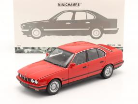 BMW 535i (E34) year 1988 red