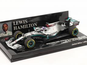 L. Hamilton Mercedes-AMG F1 W11 #44 Launch Spec F1 World Champion 2020 1:43 Minichamps