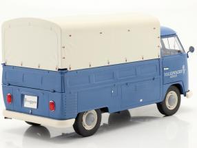 Volkswagen VW T1 Pick-Up with cover Volkswagen Service 1950 blue