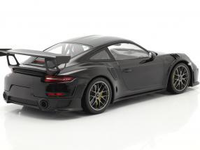 Porsche 911 (991 II) GT2 RS Weissach Package 2018 black / silver rims