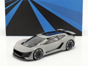 Audi PB18 e-tron Concept Car 2018 grey with showcase