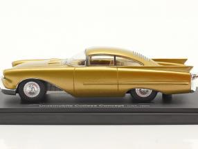 Oldsmobile Cutlass Concept Car year 1954 gold metallic