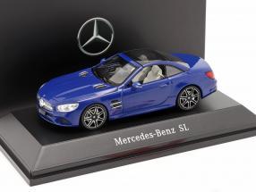 Mercedes-Benz SL MOPF R231 brilliant blue 1:43 Spark