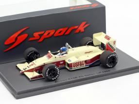 Derek Warwick Arrows A10B #17 4th Italian GP formula 1 1988 1:43 Spark