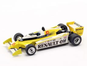 Jean-Pierre Jabouille Renault RS11 #15 formula 1 1979 1:43 Norev