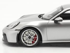 Porsche 911 (992) GT3 2021 GT silver metallic with showcase