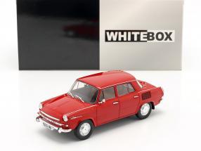 Skoda 1000 MB red 1:24 WhiteBox