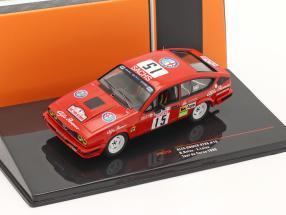 Alfa Romeo GTV6 #15 Tour de Corse 1986 Balas, Laine 1:43 Ixo