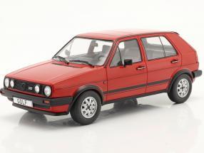 Volkswagen VW Golf II GTD 5-door year 1984 red 1:18 Model Car Group