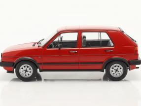 Volkswagen VW Golf II GTD 5-door year 1984 red  Model Car Group