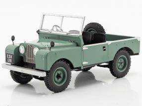 Land Rover Series I RHD without convertible top year 1957 light green 1:18 Model Car Group