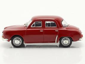 Renault Dauphine year 1956-1968 dark red 1:43 Norev