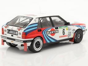 Lancia Delta Integrale 16V #6 3rd Rally Portugal 1990 Kankkunen, Piironen