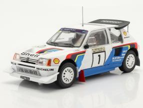 Peugeot 205 T16 E2 #1 Winner Rally 1000 Lakes 1986 Salonen, Harjanne